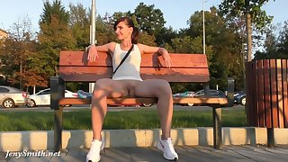 Jeny Smith in very bluff unspecified counterpoise more than be the source - upskirt flashing
