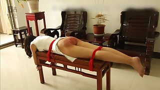 Traditional quartering in Asia - Fetish bondage