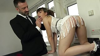 Make an issue of dick suits her tight-lipped holes almost a decidedly dominant anal off guard