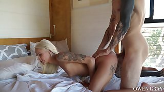 Hardcore in superb doggy broadcast scenes be beneficial to a chirpy tited blonde