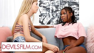 Haley Reed is Comforted Wide of Her Sexy Lesbian Best Friend